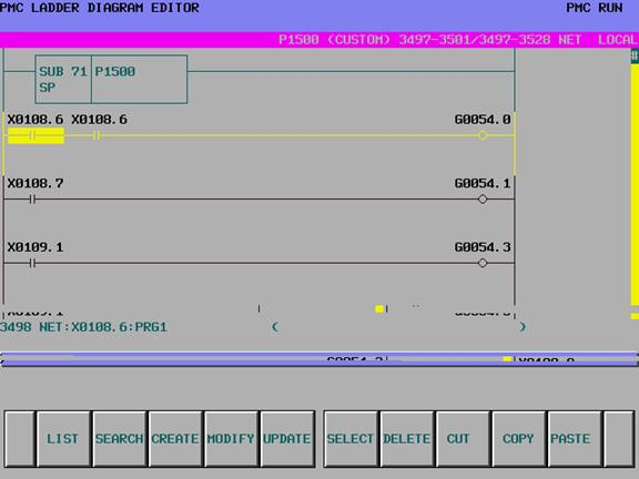 Editing fanuc ladders online or using fanuc ladder III software for ...