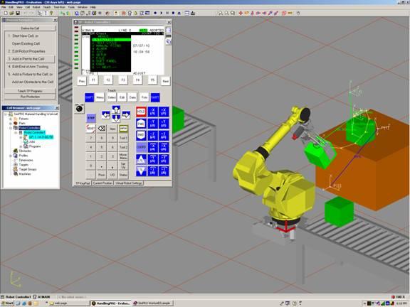 Robotics simulator | fanuc simpro software and roboguide demo's.